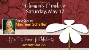 Womens Spring Luncheon 2014